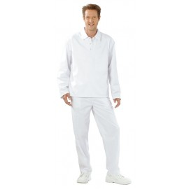 Férfi galléros, hosszú ujjú póló